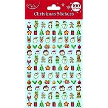 Eurowrap X-25644-S Christmas Foam Stickers