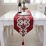 レッド テーブルランナー北欧 180cm