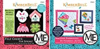 Kimberbell Designs Bundle of 2Embroider by Number Me Time CDの–フェルトCozies–Spring Plus Kite刺繍kd603+ kd622