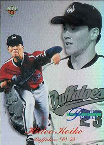 BBM1999 ダイヤモンドヒーローズ ピッチャーパーフェクト No.P11 小池秀郎