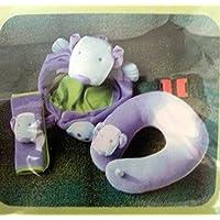 旅行平面ネックシートベルト車枕withバックパック幼児Kids犬ギフト3ピース