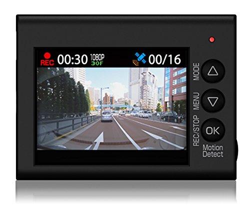 ユピテル ドライブレコーダー DRY-ST3000P 200万画素 Full HD/GPS/衝撃センサー/HDR/対角148° 東西LED式信号機対応 8GB microSD付属
