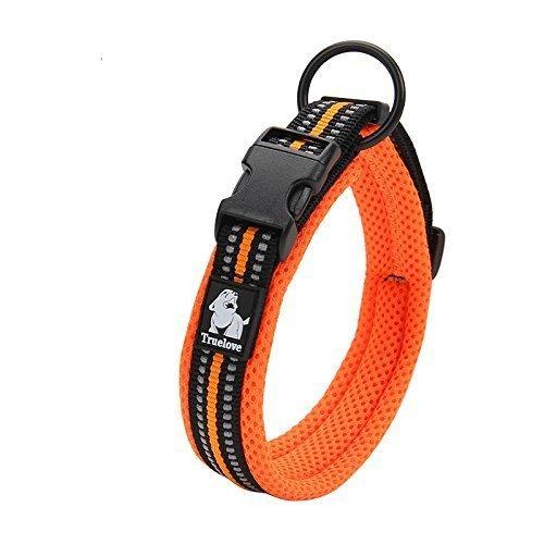 犬首輪 犬の首輪 犬用訓練首輪 小型、中型、大型犬用首輪 ペット用品  3M反射材料  ナイロン製  通気性  弾力性 ソフト 調節可能   ハーネス リード