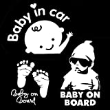 [3-in-1] Baby on Board/Baby In Car Decals
