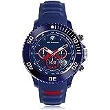 [アイスウォッチ]ICE-WATCH BMW Motorsport by Ice-Watch - Chrono - Dark Blue & Red - Big BM.CH.BRD.B.S.14  【正規輸入品】