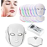 顔マスクー色の光治療とLED光子療法 Global Care Market によるフェイスビューティースキンケア光線療法ニキビマスクコンプリートセット