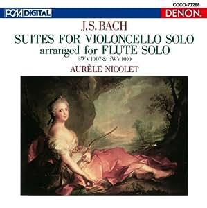 フルートによるバッハ「無伴奏チェロ組曲」