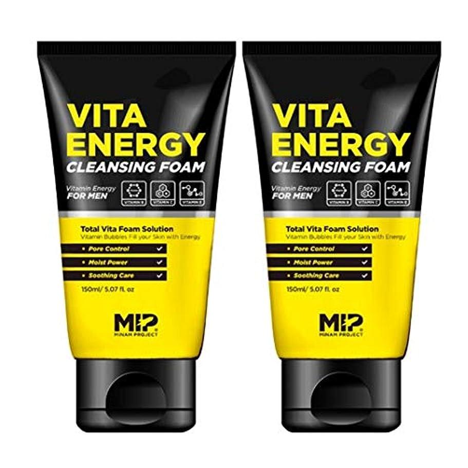 クレデンシャル公平な命令MIP VITA ENERGY CLEANSING FOAMクレンジング?フォーム300ml MEN's Cosmetic[海外直送品]
