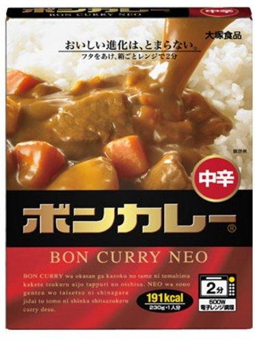 大塚食品 ボンカレーネオ 中辛 230g×5個