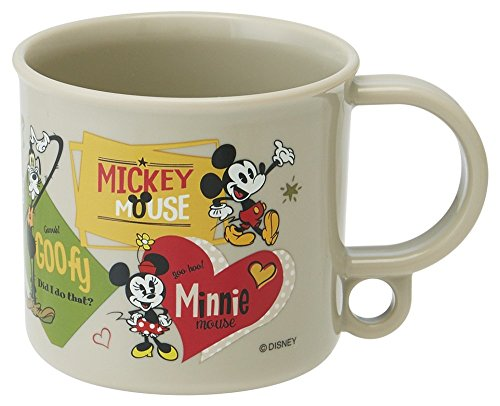 スケーター コップ 200ml 食洗機対応 ミッキーマウス 16 ミッキー ディズニー KE5A