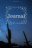 2020 Journal: Desert night sky diary journal to write down all your thoughts, ideas, and dreams. Convenient travel size paperback book.
