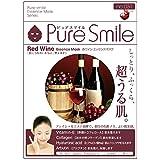 Pure Smile エッセンスマスク 赤ワイン 23ml?30枚