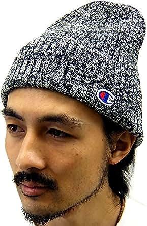 (チャンピオン) Champion ニット帽 メンズ 帽子 ワッチ 2color Free ブラック