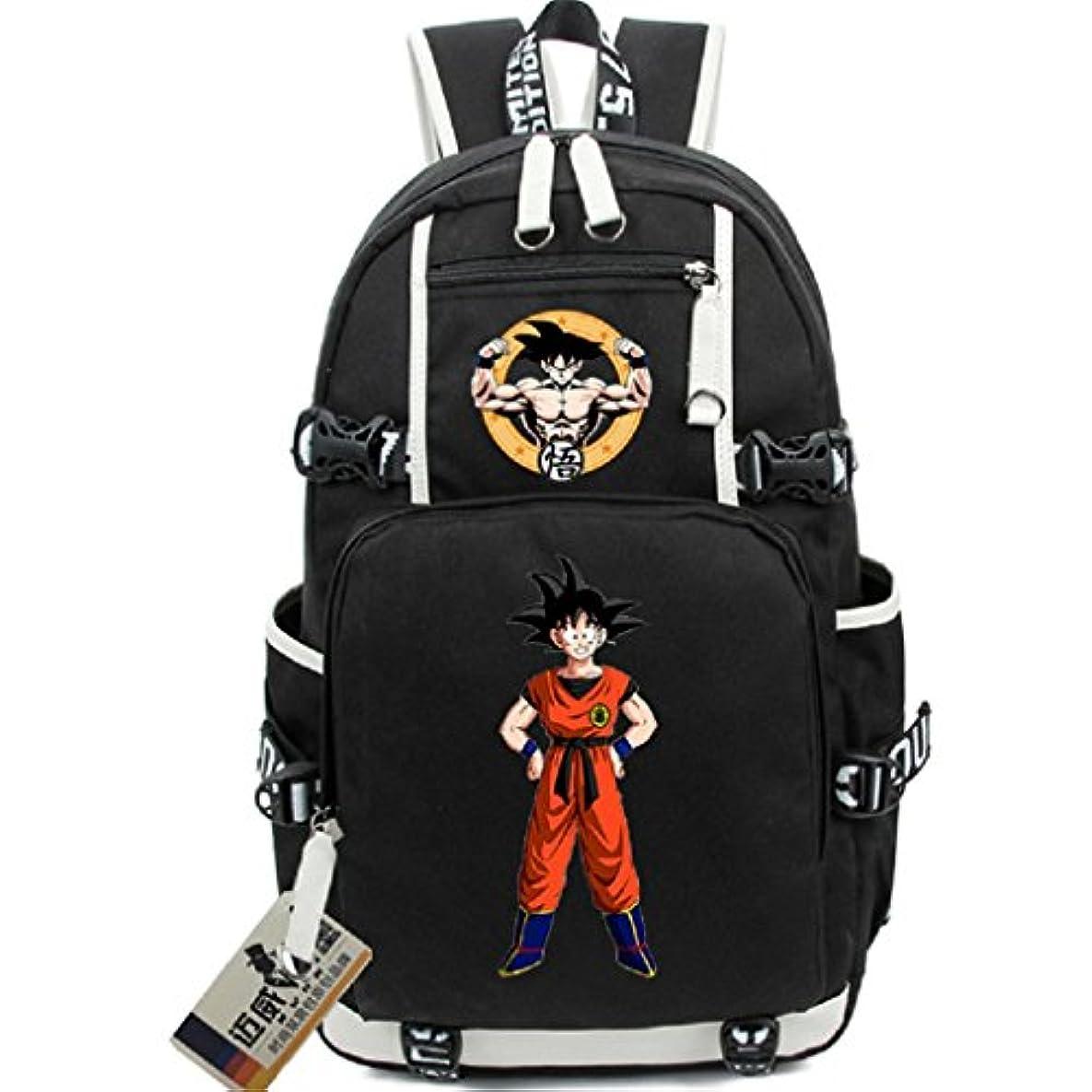 写真撮影アブストラクト交響曲Siawasey Anime Dragon Ball Zコスプレブックバッグデイパックノートパソコン用バックパック肩バッグスクールバッグ