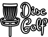 """4 All Times Disc Golf 自動車用デカール 車 トラック ノートパソコン 8.0""""W x 5.8""""H 4ATAD918"""