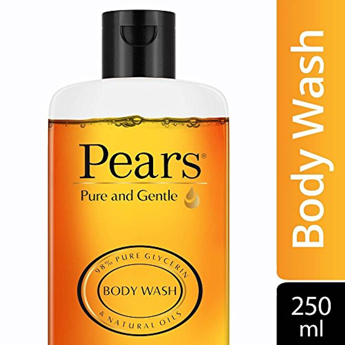 びん利用可能フルーツ野菜Pears Pure and Gentle Shower Gel, 250ml