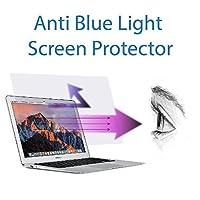 アンチブルーライトスクリーンプロテクター2パックモデル番号for MacBook Air 13インチa1369& a1466。フィルタアウトブルーライトとコンピュータRelieve眼精疲労をヘルプをスリープBetter