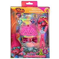 Dreamworks Trolls Poppy Girls Dress Up Tiara and Hair Accessory Set 8-Piece [並行輸入品]