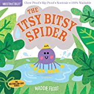 Indestructibles: The Itsy Bitsy Spider: Chew Proof · Rip Proof · Nontoxic · 100% Washable (Book for Babies, Ne