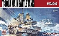 moc720621: 72Modelcollect t-80ua Main Battle Tank [ Model Building Kit ]