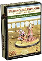 Gale Force 9 71025 Dungeons And Dragons Anton Marivaldi, Human Pirate, Collector's Series Miniature Figures