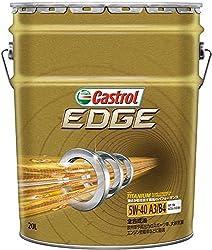 CASTROL(カストロール) エンジンオイル EDGE 5W-40 SN 全合成油 4輪ガソリン ディーゼル車両用 20L
