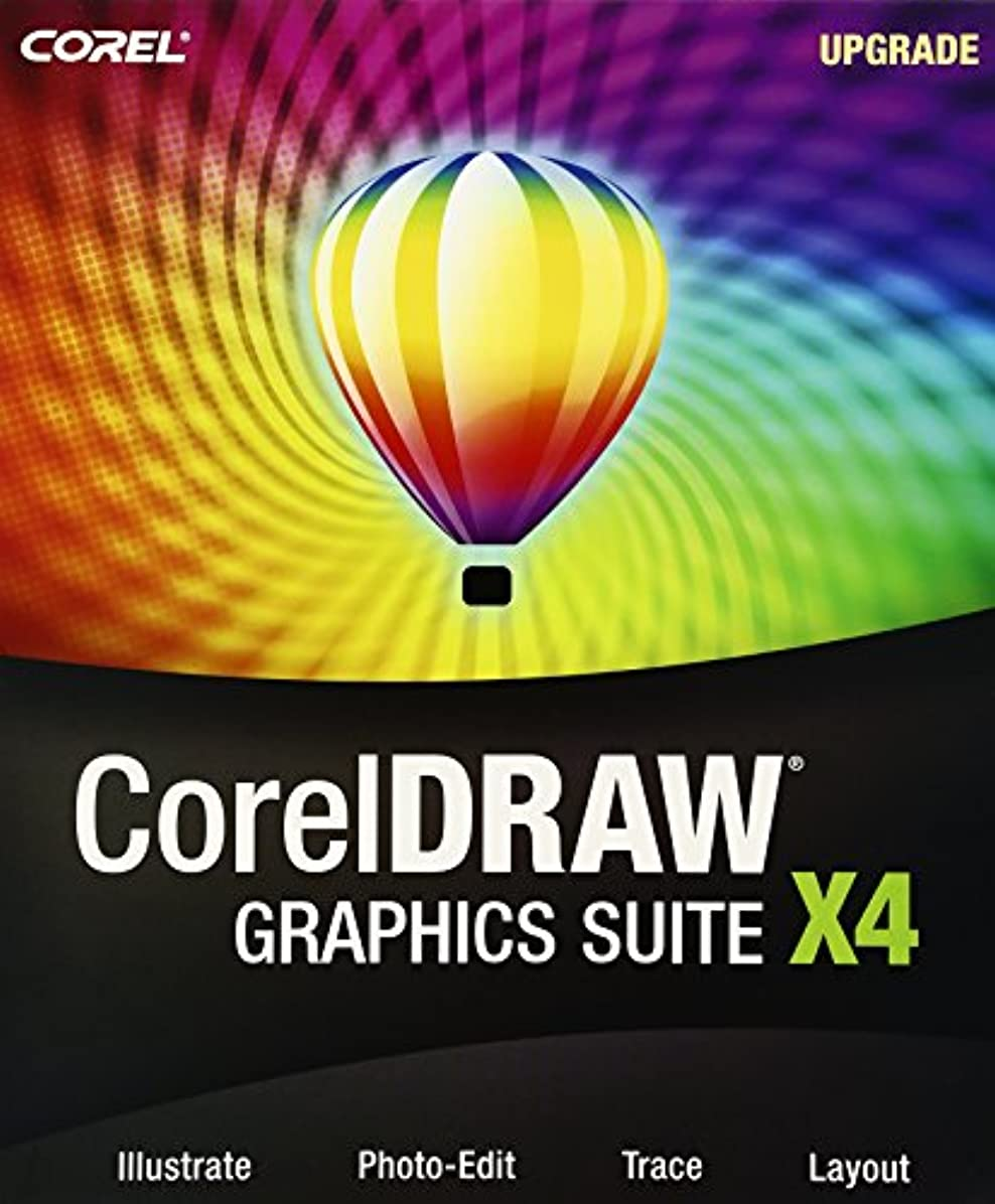 小切手裏切り者アカデミーCorelDRAW Graphics Suite X4 アップグレード版 英語版