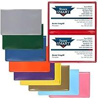 StoreSMART–プラスチック折りたたみカードホルダーさまざまな10個パック–rpp2915vp-10
