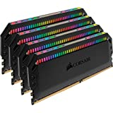 CORSAIR DOMINATOR PLATINUM RGB 64GB (4x16GB) DDR4 3600 (PC4-28800) C18 1.35V Desktop Memory