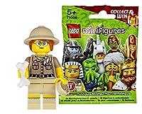レゴ(LEGO) ミニフィギュア シリーズ13 考古学者 未開封品|LEGO Minifigures Series14 Paleontologist 【71008-6】