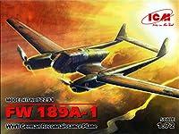 icm722911: 72ICM FW 189A - 1ww2ドイツreconnaissance平面[ Model Building Kit ]