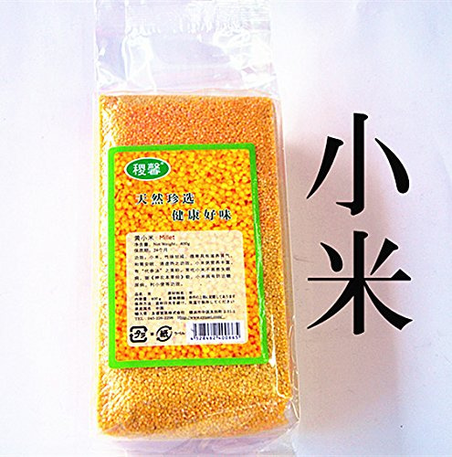【3位】 華華百貨店 黄小米(アワ) 低カロリー高穀物繊維の食材 400g