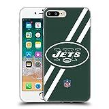 オフィシャル NFL ストライプ ニューヨーク・ジェッツ ロゴ ソフトジェルケース Apple iPhone 7 Plus/iPhone 8 Plus