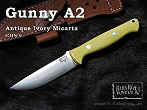 BARK RIVER/バークリバー #BA011MAI Gunny A2 Antique Ivory Micarta ガニーA2