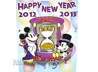 Happy New Year 2012-2013 ニューイヤー ミッキー 砂時計 ピン MICKEY