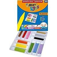 Bic Kids Plastidecor Colouringクレヨン' Special for School 'クラスパック(288ピース)