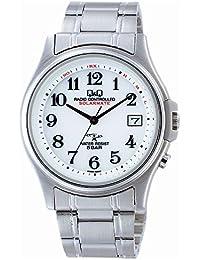 [キューアンドキュー]Q&Q ソーラー 電波時計 腕時計 メンズ ソーラーメイト SOLARMATE シチズン CITIZEN HG00-800