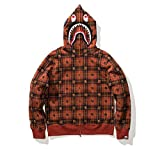 UNDFTD × BAPE SHARK HOODIE (COLOR Red) (SIZE M ) 国内正規新品