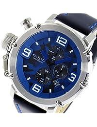 コグ COGU クオーツ クロノ メンズ 腕時計 C61-CBL ブルーカモフラ [並行輸入品]