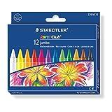 STAEDTLER Noris Club Jumbo Crayon 229 NC12, 12 Colours
