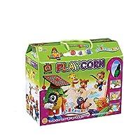 Playcorn Gallery Corn Starch sorghum straw XL 1000PCS- Educational Arts and Crafts Toy Environmental Friend Material & Toy Sanitizer 30ml PlaycornギャラリートウモロコシデンプンソルガムストローXL 1000PCS - 教育芸術と工芸おもちゃ環境フレンドマテリアル&トイサニタイザー30ml [倂行輸入]