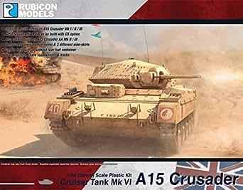 RUBICON MODELS 1/56 A15 クルセーダー MKI/I CS/II/II CS/III/AA RB0025