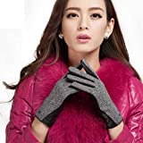 【天神】TIANSHEN レザー手袋(ブラック女2 S)