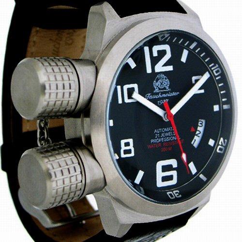 [トーチマイスター1937]Tauchmeister1937 腕時計 ドイツ製 2戦ドイツ海軍U-BOOT潜艦軍用復刻自動巻 T0108 (並行輸入品)