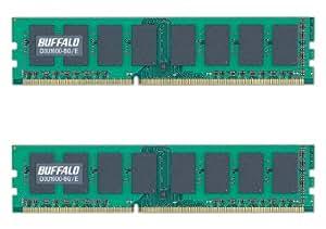 BUFFALO PC3-12800(DDR3-1600)対応 240Pin DDR3 SDRAM DIMM デスク用 2枚組 16GB(8GB×2) D3U1600-8GX2/E