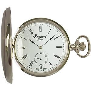 [ラポート]RAPPORT 懐中時計 手巻き スモールセコンド ダブルハンターケース PW11 【正規輸入品】