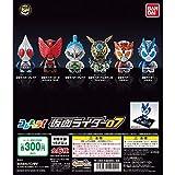 仮面ライダー コレキャラ!仮面ライダー07 全6種