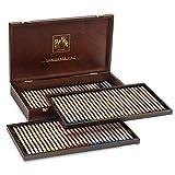 カランダッシュ 油性色鉛筆 ルミナンス 76色木箱セット 6901-476 [日本正規品]