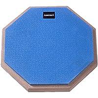 Twinkle goods (ツインクルグッズ) ドラム 練習 パッド トレーニングパッド ラバー 製 高弾 静音 12インチ ブルー