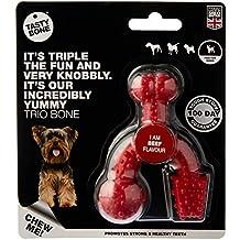 Tasty Bone Nylon Trio Beef Toy